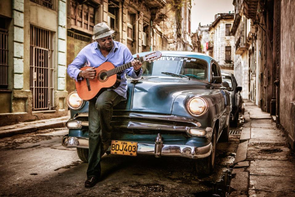 Adonis Cuba Car Promo Shot