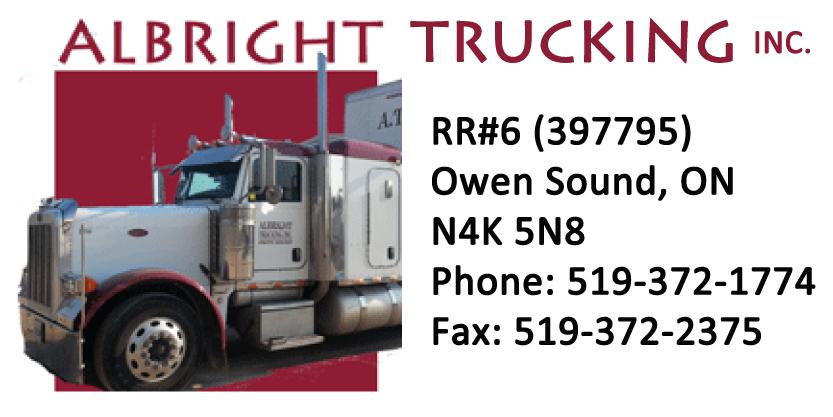 Albright Trucking logo