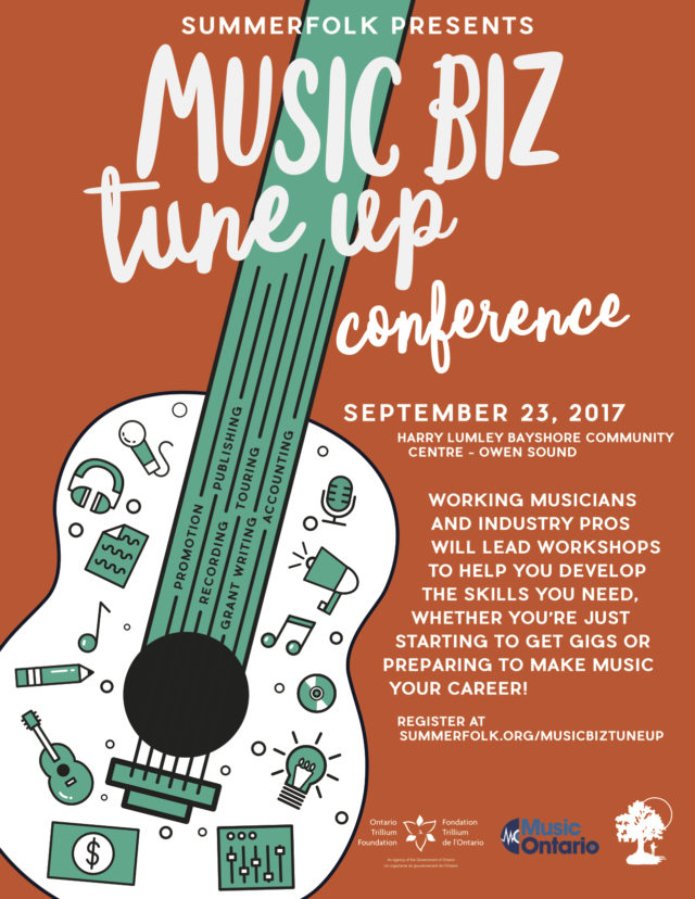 Music Biz Tune Up Poster