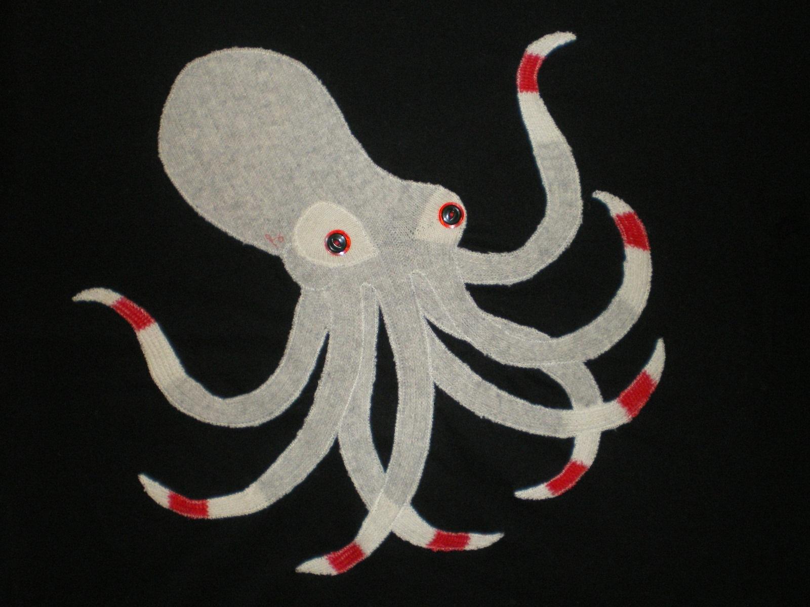Rorokiti Smevil Socktopus Applique Teeshirt