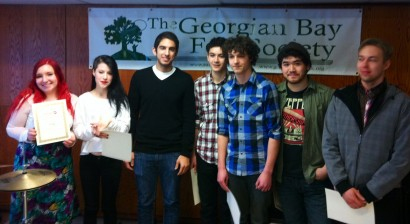 Youth Discovery Finalists from Meaford!